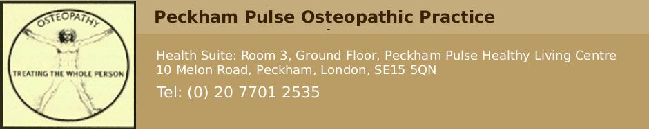 Peckham Pulse Osteopathic Practice